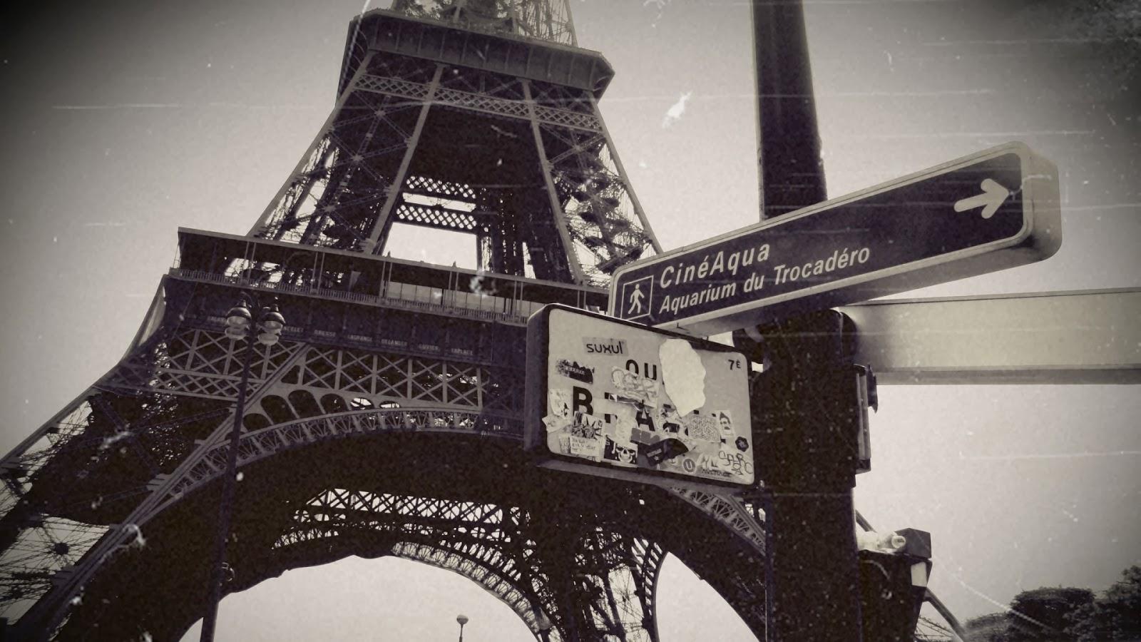 Vintage eiffel tower tumblr photography
