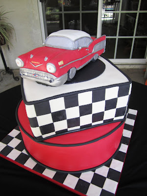 Cakes By Sarah 57 Chevy Bel Air