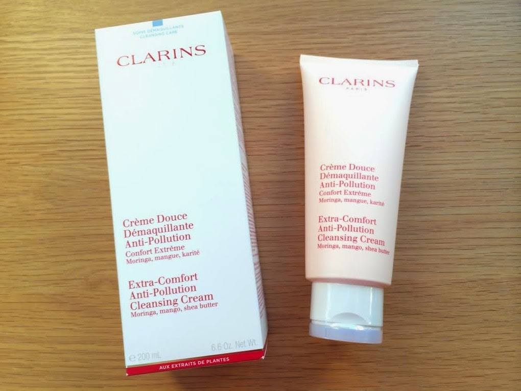 clarions Extra Comfort Anti-Pollution Cleansing Cream