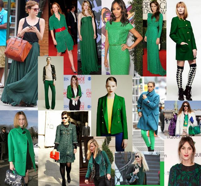 Vert emeraude couleur star 2013 bettinael passion couture - Quelle couleur avec le vert ...