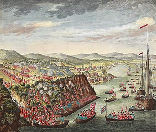 The Battle of Quebec 1759