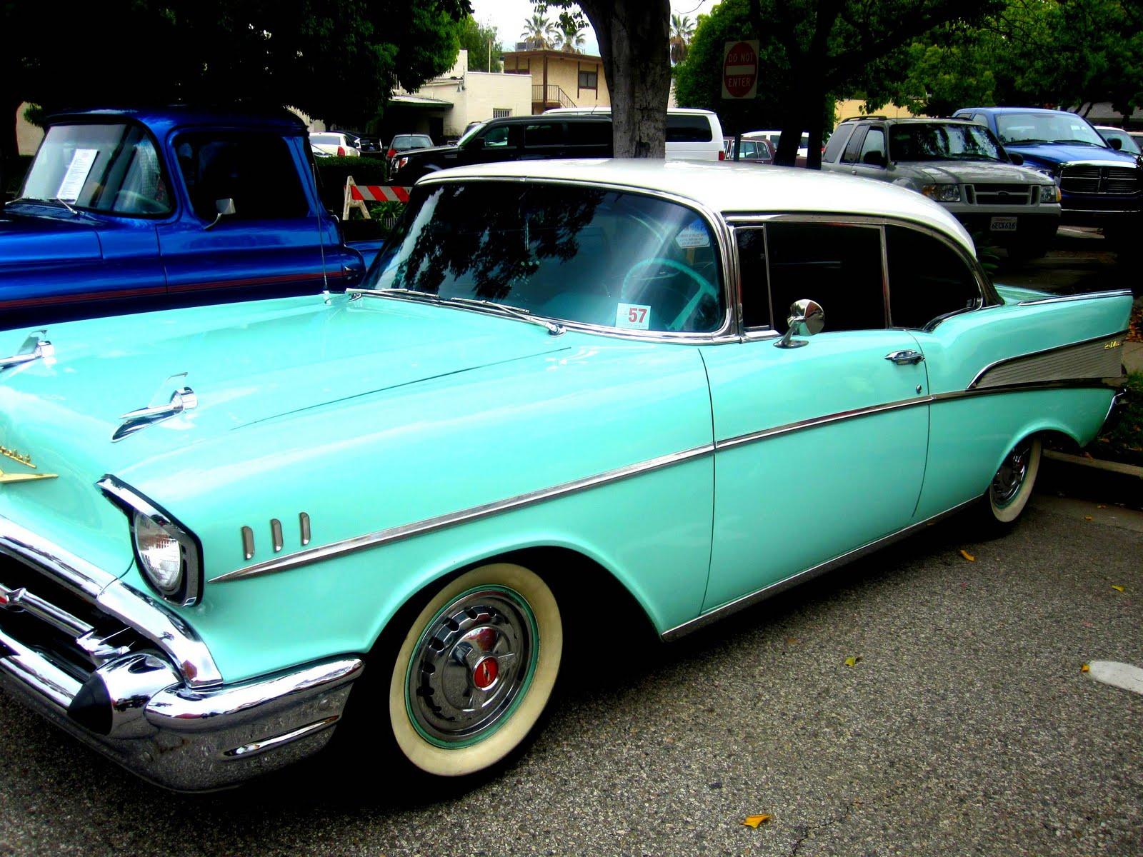 Classic Cars and Confetti Cake