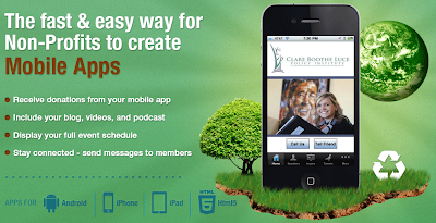 Mobile apps for non-profit, at Dovetanet Marketing