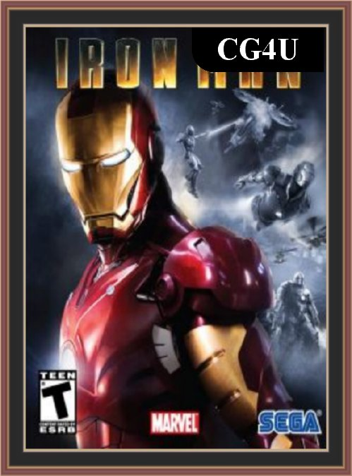 Iron Man Pc Game Cover | Iron Man Pc Game Poster