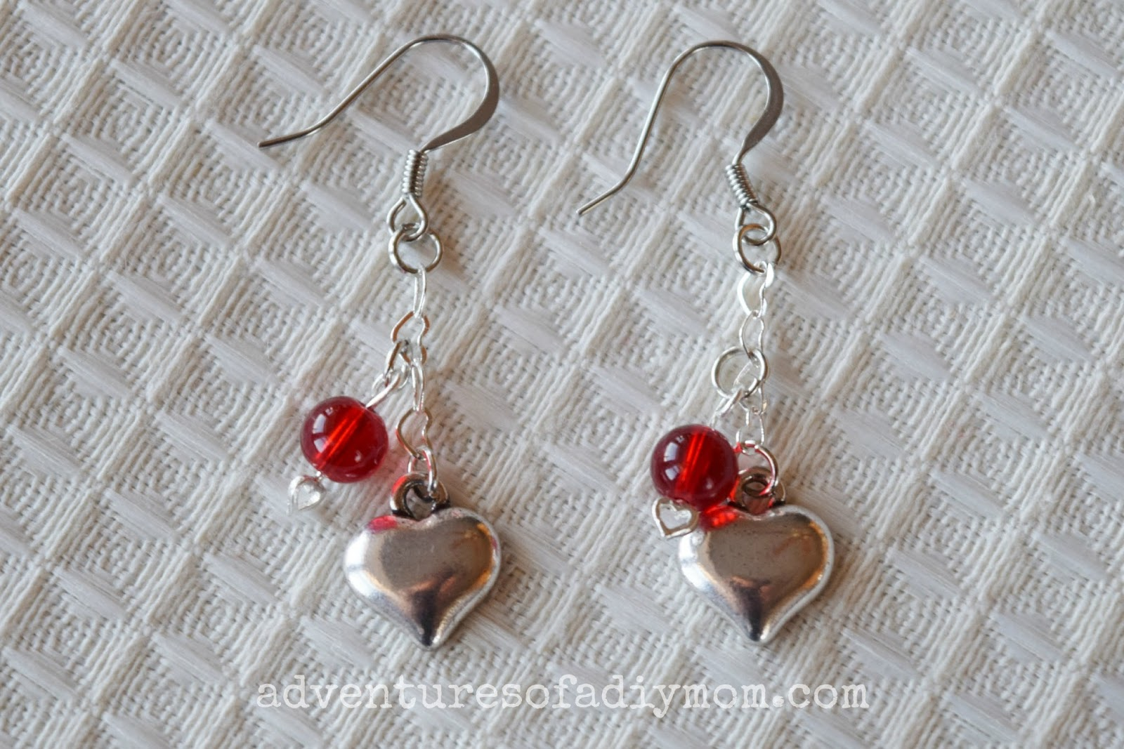 Valentines Earrings Tutorial