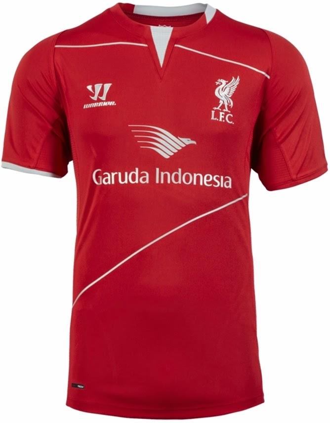 LFC Mens Red Training SS Shirt 14-15