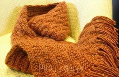 Học cách đan khăn len cực đơn giản 1