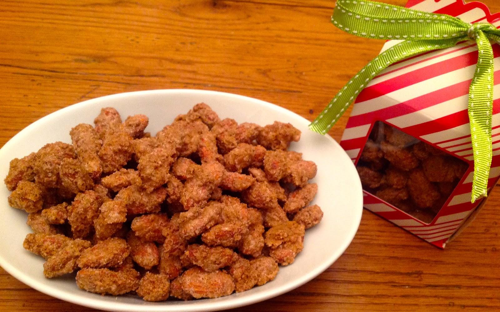 Dawn's Recipes: Cinnamon Roasted Almonds