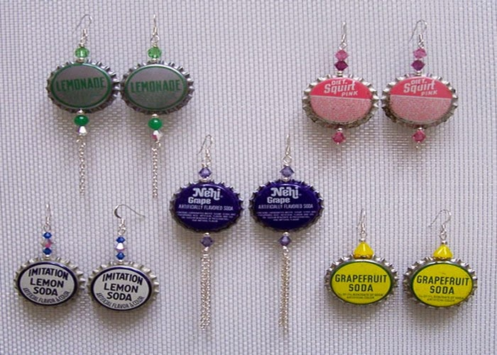 Diy ideas diy creative designs to recycled bottle caps for Cool bottle cap designs