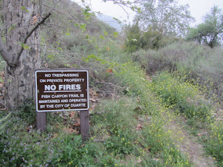 Fish Canyon access trail trailhead