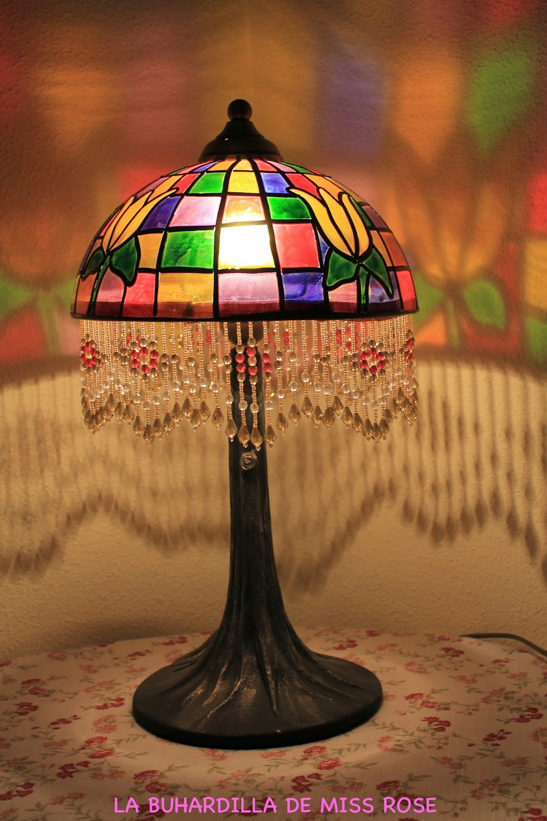 La buhardilla de miss rose lamparas estilo tiffani 39 s - Lamparas para buhardillas ...