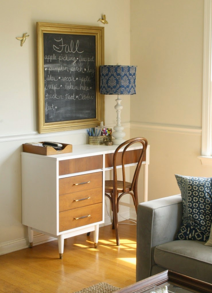 Fall Bucket List on a Chalkboard - from Primitive and Proper