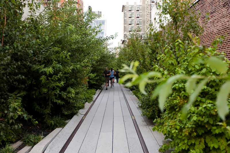 Running Track of High Line Park, New York