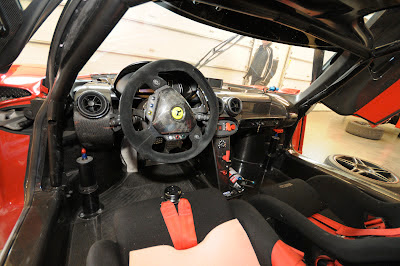 Ferrari FXX Interior Cockpit Racing Roll Cage Steering Wheel Pilot
