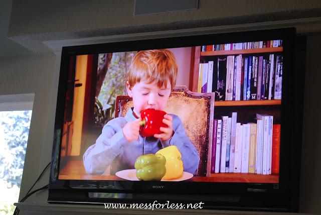 child eating pepper