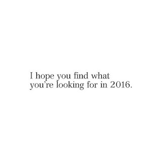 2016: goals & hopes.
