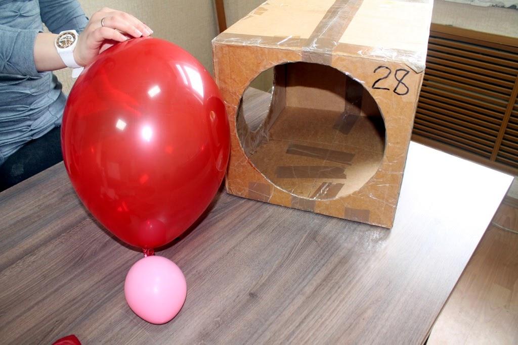 калибровка воздушных шаров при надувании гелием