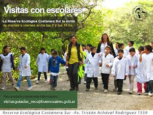 Visitas escolares en la RECS
