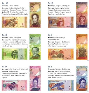billetes venezolanos, isla margarita, venezuela, vuelta al mundo, round the world, información viajes, consejos, fotos, guía, diario, excursiones