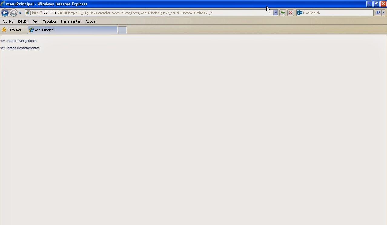 vista pagina menuPrincipal