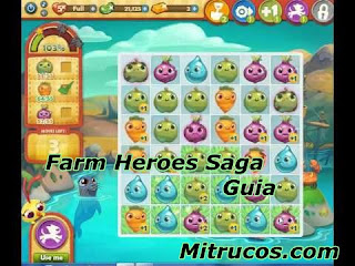 Al iniciar Farm Heroes Saga , el animal de granja le mostrará a