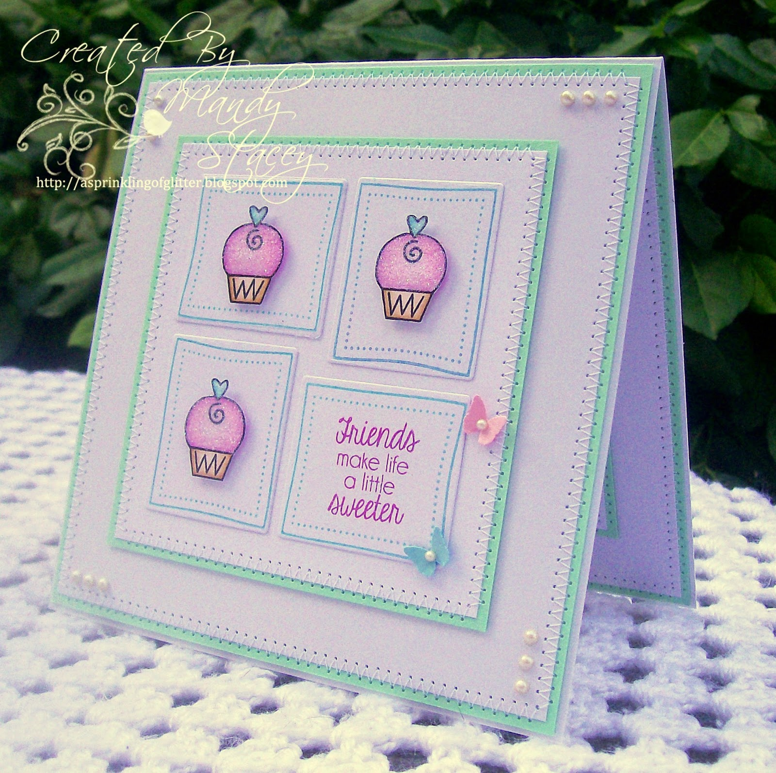 A Sprinkling of Glitter: Little Cupcakes & Tilda With Heart Phone ...