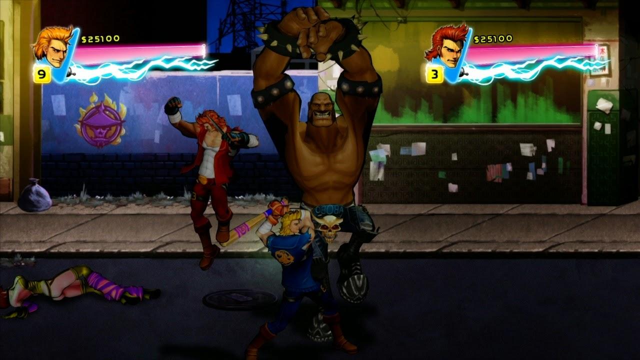 Double Dragon: Neon screenshots