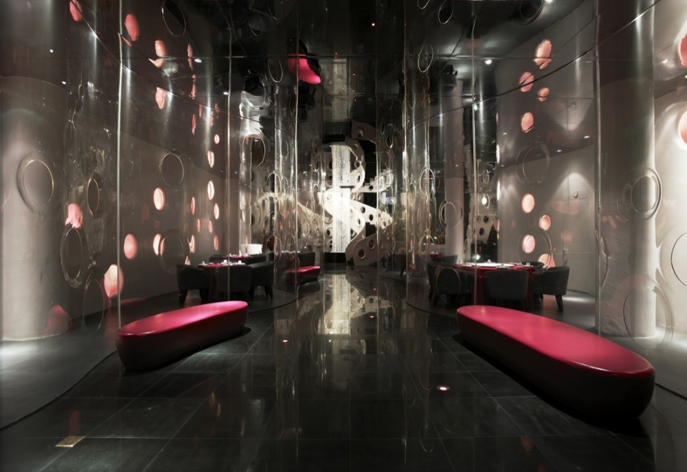 Best restaurant interior design ideas honeycomb for Outer space design melbourne