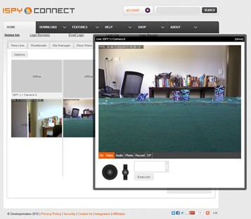 ispy best free security camera software programs
