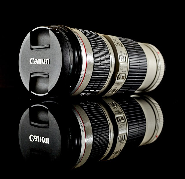 Lensa canon terbesar didunia!