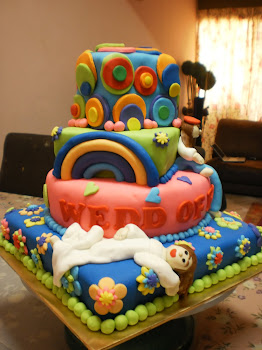 Rock n rolls cake
