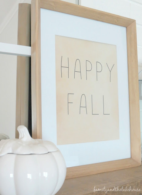 Neutral and Rustic Fall Home Tour
