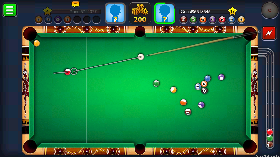 play online 8 ball pool