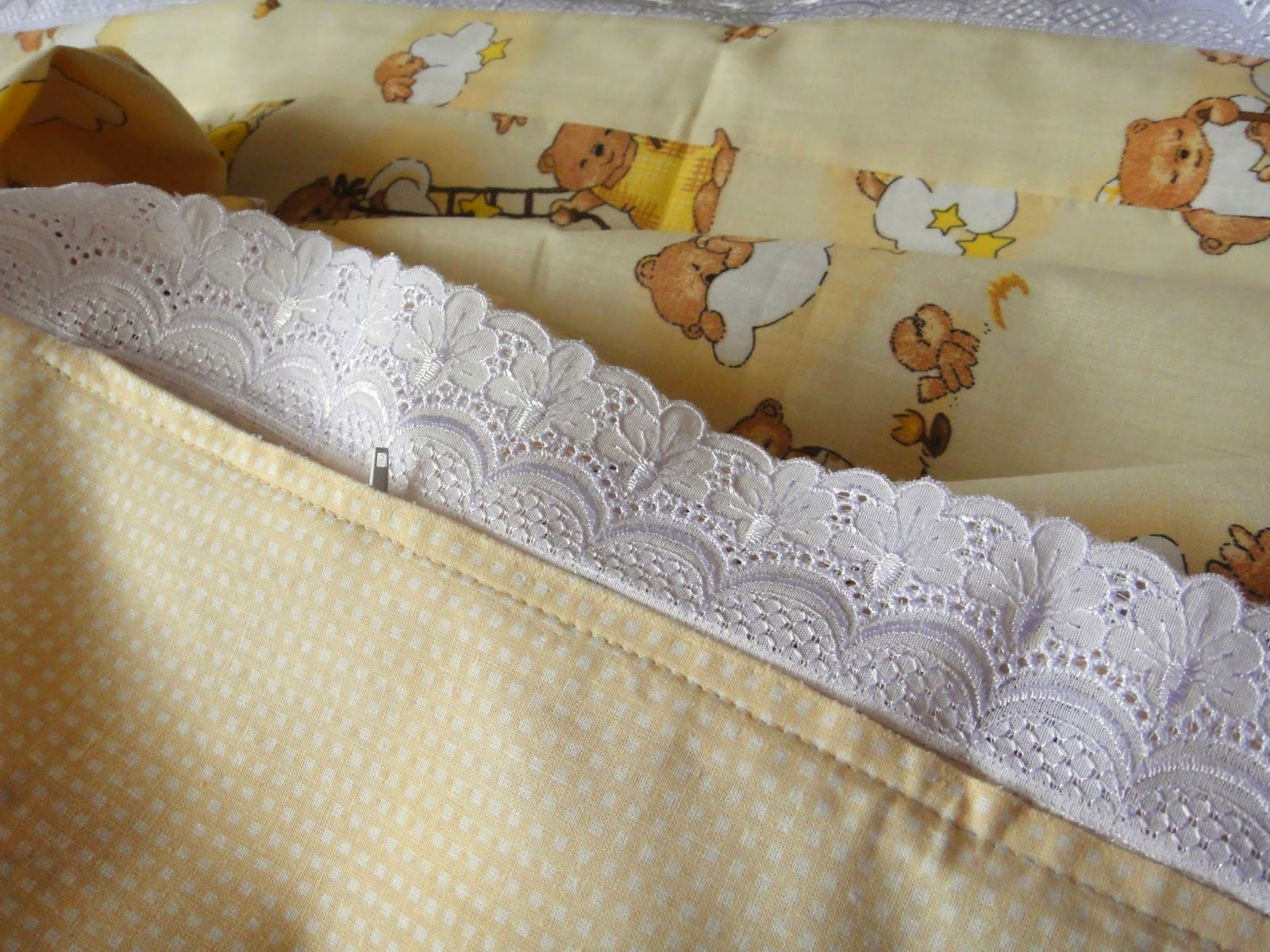 Комплект постельного белья для малыша Мишки
