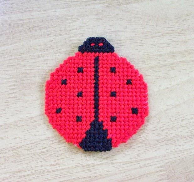 Ladybug Handmade Coaster