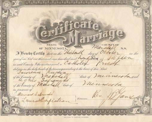ontario marriage certificate online how to begin