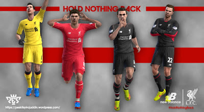 PES 2013 Liverpool 2015-2016 Kits by Syirojuddin