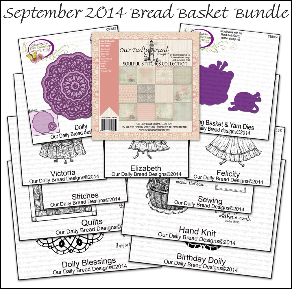 Our Daily Bread Designs September 2014 Bread Basket Bundle