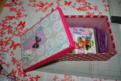 Scraps con amor un regalo para mi hermana mini lbum un d a muy dulce - Que regalar a tu hermana ...