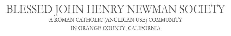 Blessed John Henry Newman Society