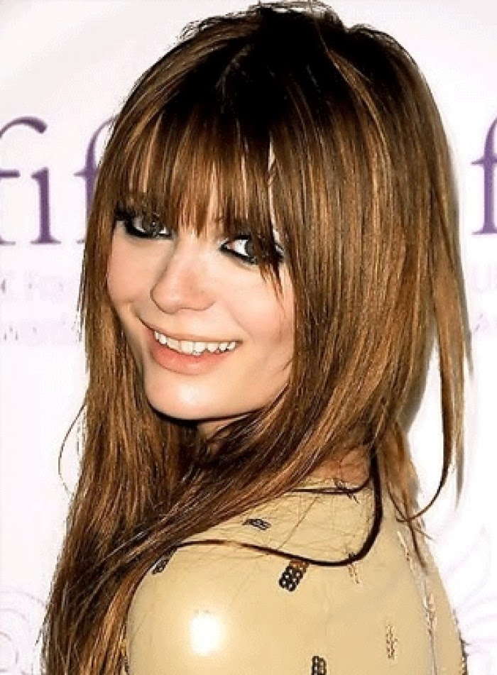 ... and Styles: Looking Classic Using Long Hairstyles for Women with Bangs Long Haircuts 2014 Trends With Bangs
