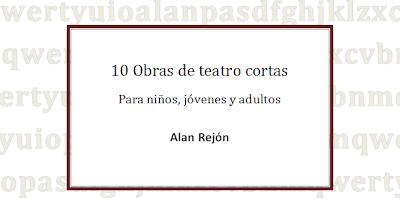 portada ebook de teatro