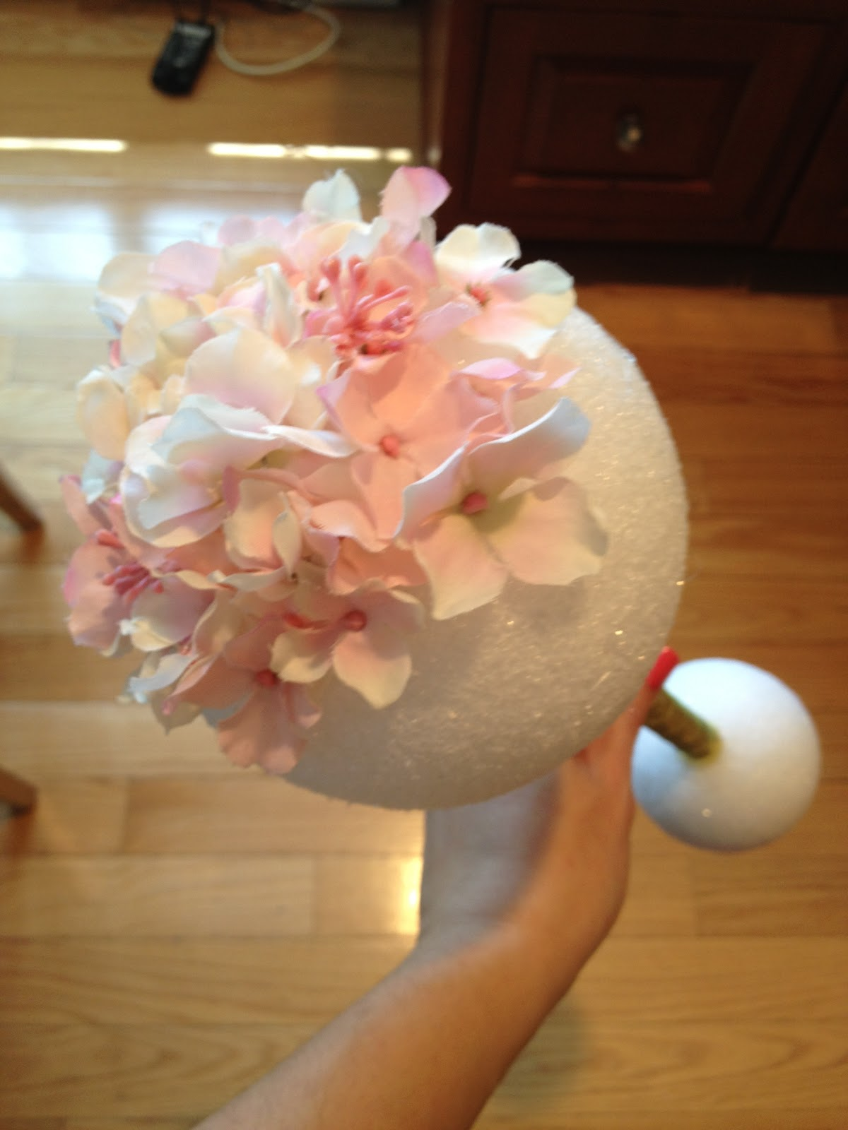 Our Love Nest Diy Baby Shower Rattle Wreath How To