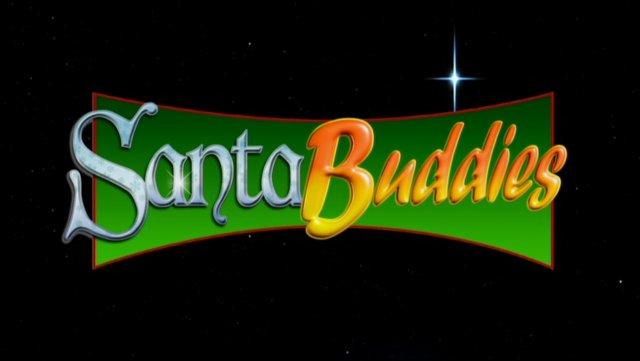 Santa Buddies title