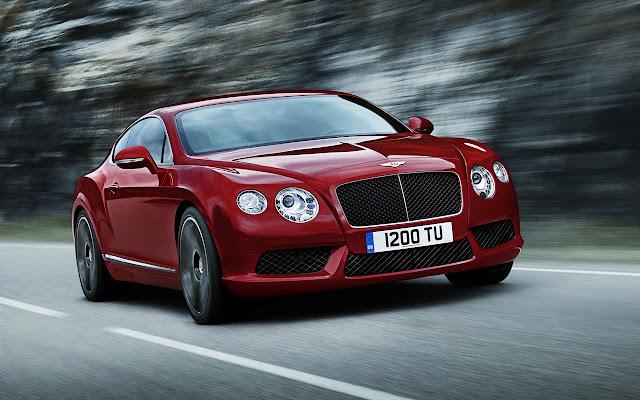 Bentley Contitental GT V8 front