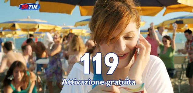 Canzone spot TIM giugno 2013 Estate con TIM Chiara