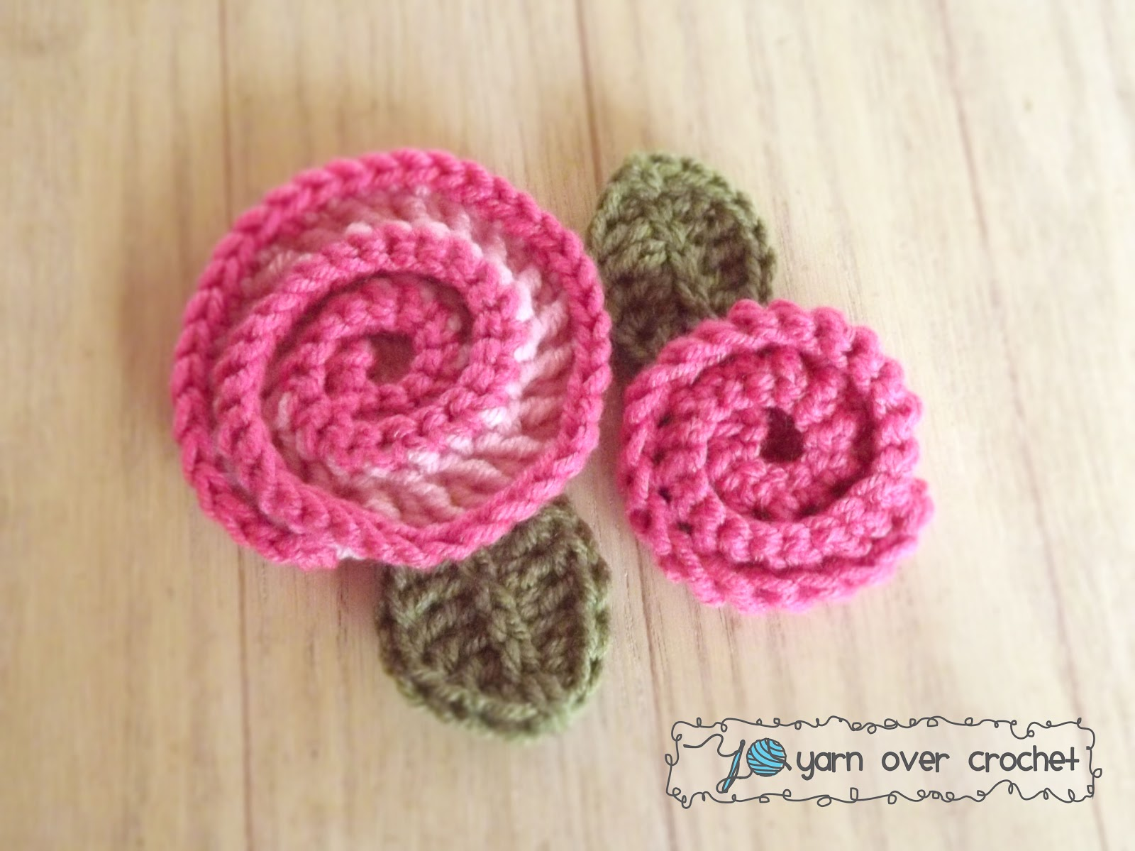 Love Stitch Love Swirly Rose Free Pattern
