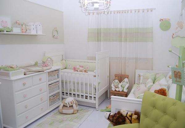 decoracao quarto bebe pequenos ambientes : decoracao quarto bebe pequenos ambientes: Arrumadinho: Inspiração! Decoração de quartos pequenos para Bebê