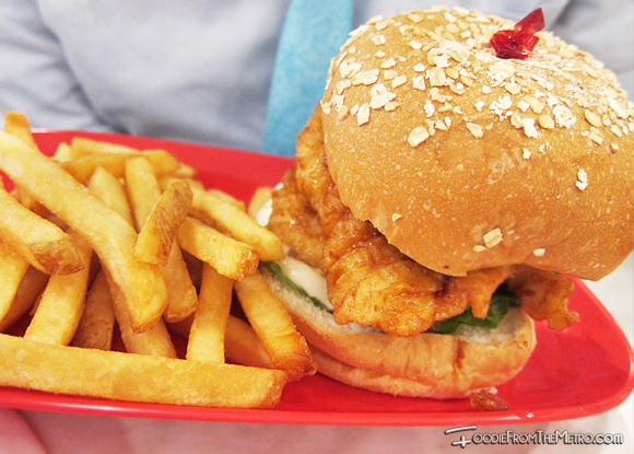 Chicken Sandwich Box - Bon Chon Philippines