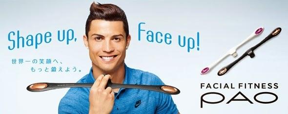 Facial Fitness PAO: Cristiano Ronaldo
